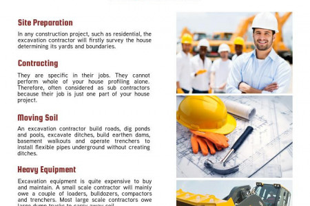 How to Hire a Professional Excavation Contractors Infographic