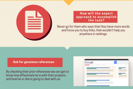 How to hire a SEO for your business marketing? Infographic
