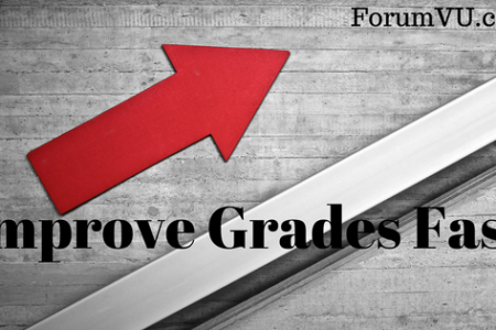 How to Improve Grades Fast Infographic