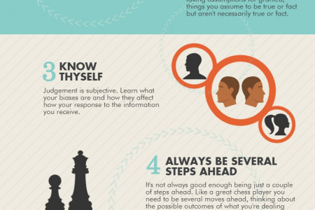 How to Improve Your Critical Thinking Skills Infographic