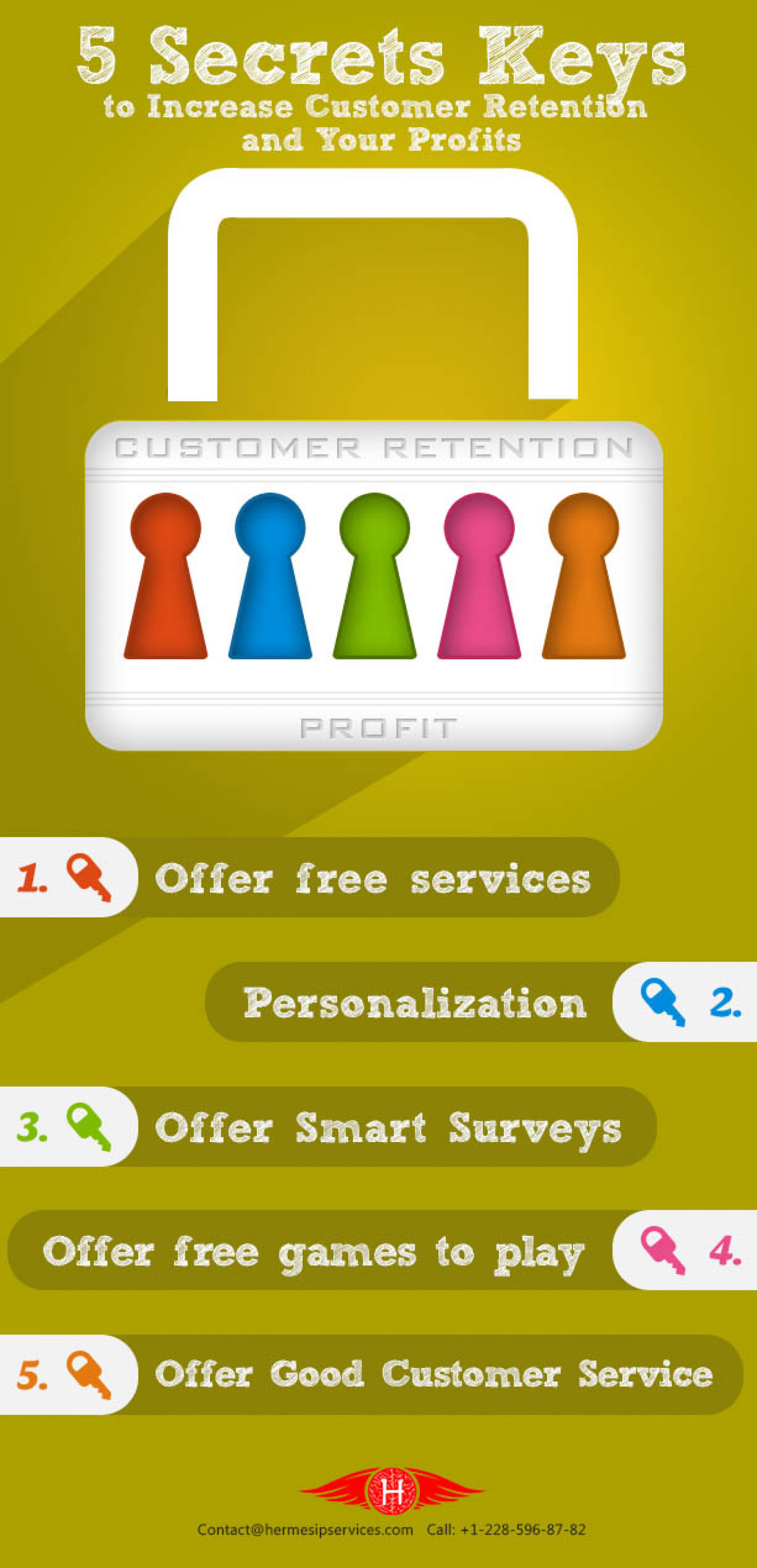 How to Increase Customer Retention and Sales Infographic
