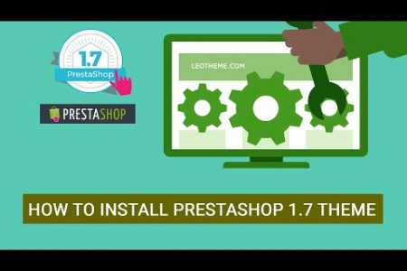How to Install PrestaShop Theme 1.7 Manually | PrestaShop Tutorial - Leotheme Infographic