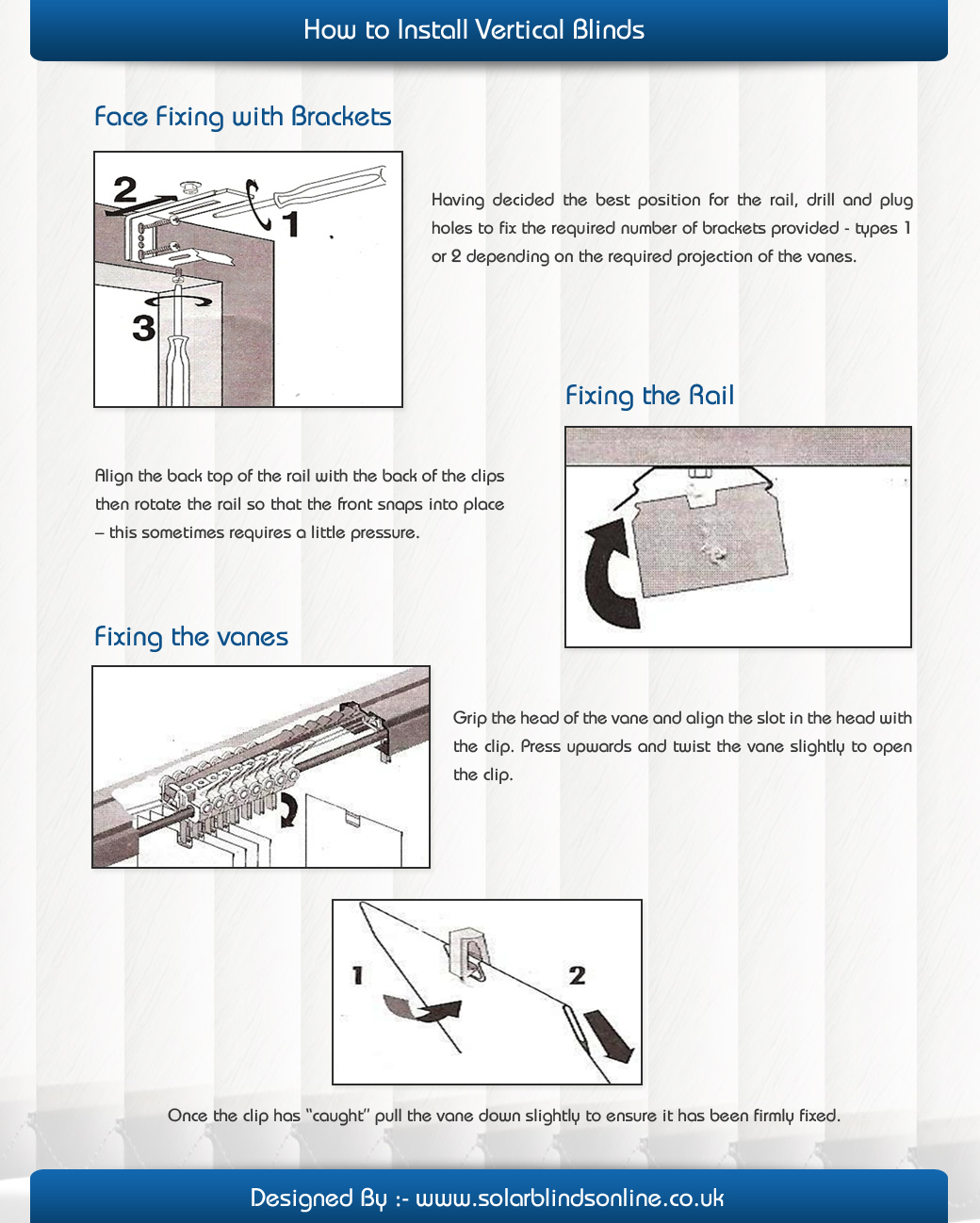 how to install blinds brackets how to install vertical blinds visually
