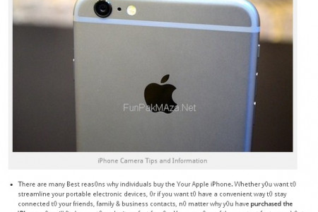 How To iPhone Camera Tips and Tricks Infographic