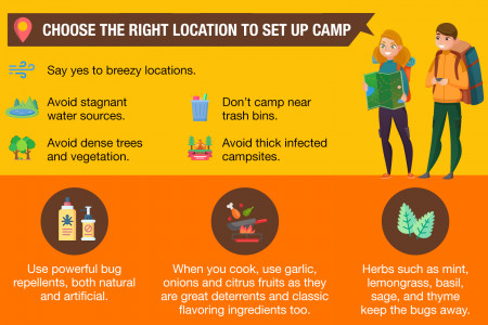 How To Keep Bugs Out Of Your Tent: An EPIC Guide  Infographic