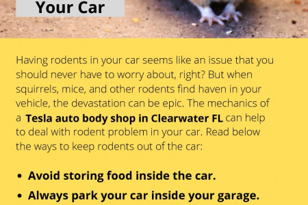 How To Keep Rodents Out Of Your Car Infographic