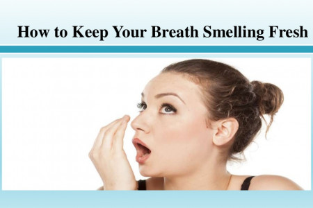 How to Keep Your Breath Smelling Fresh Infographic