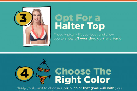 How to Look Great In A Bikini Infographic