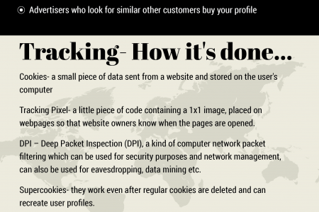 How to maintain the privacy on the internet Infographic