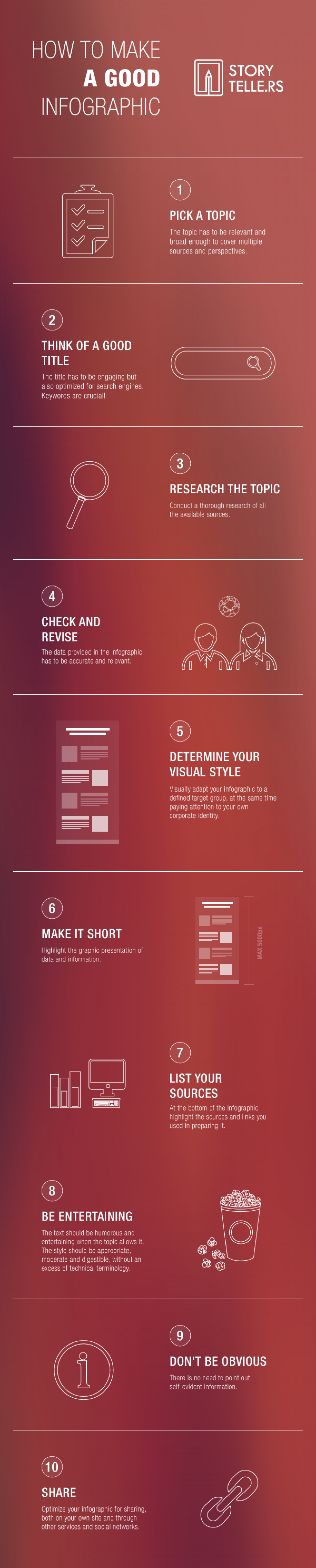 How to Make a Good Infographic Infographic