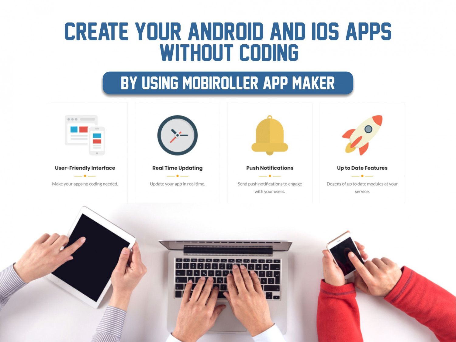 How to make an app from a website? Infographic