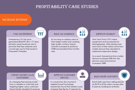 How To Make ANY Business More Profitable Infographic