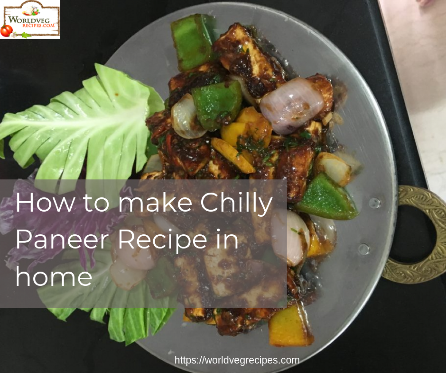 How to make Chilly Paneer Recipe in home Infographic