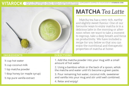 How to Make Matcha Tea Latte Infographic
