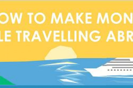 How To Make Money While Travelling  Infographic