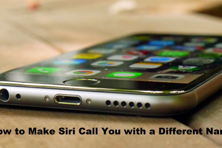 How to Make Siri Call You with a Different Name Infographic