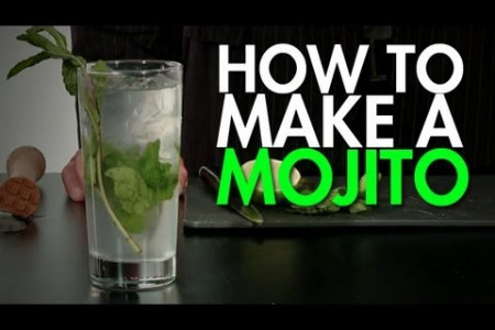 How To: Make The Perfect Mojito Infographic