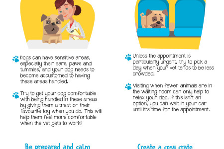 How to Make Trips to the Vet Easier- (Visual Asset) Infographic