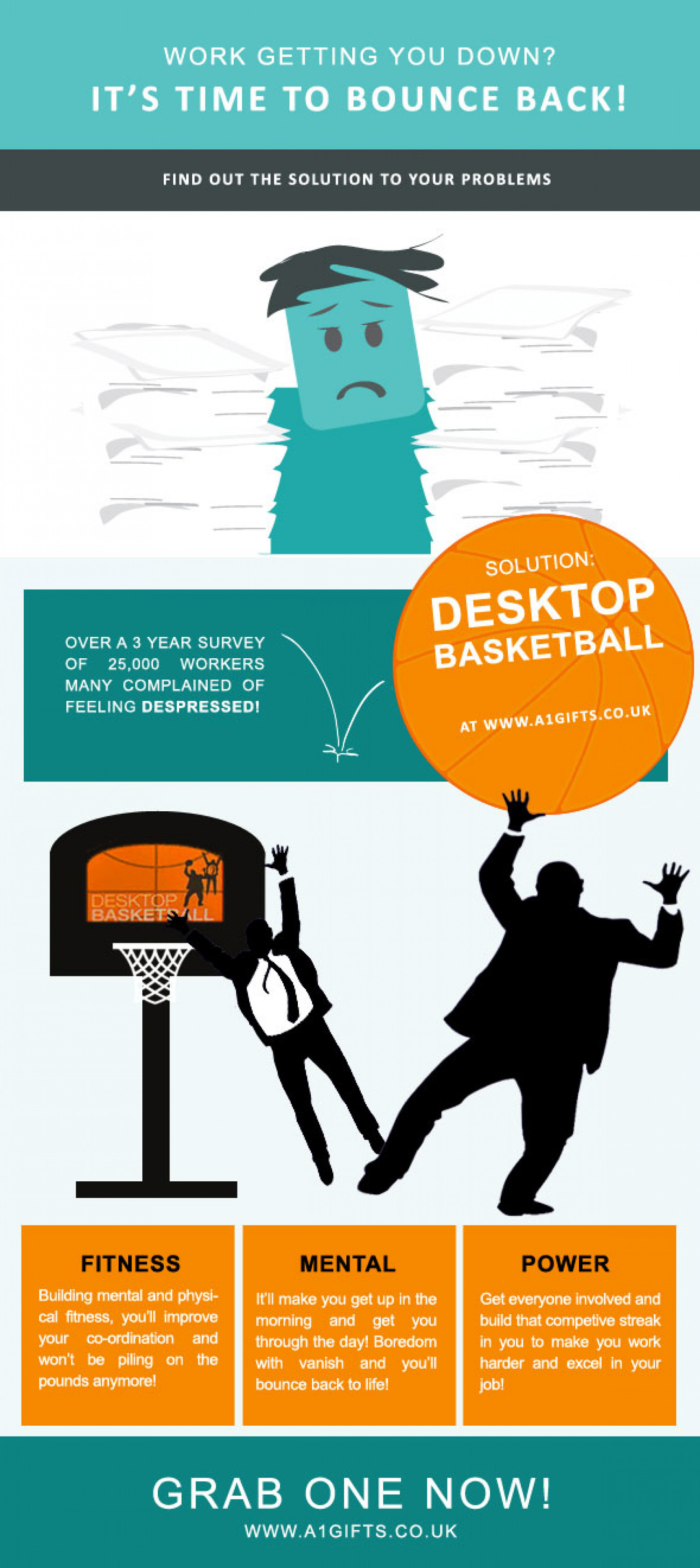 How To Make Work Fun Infographic
