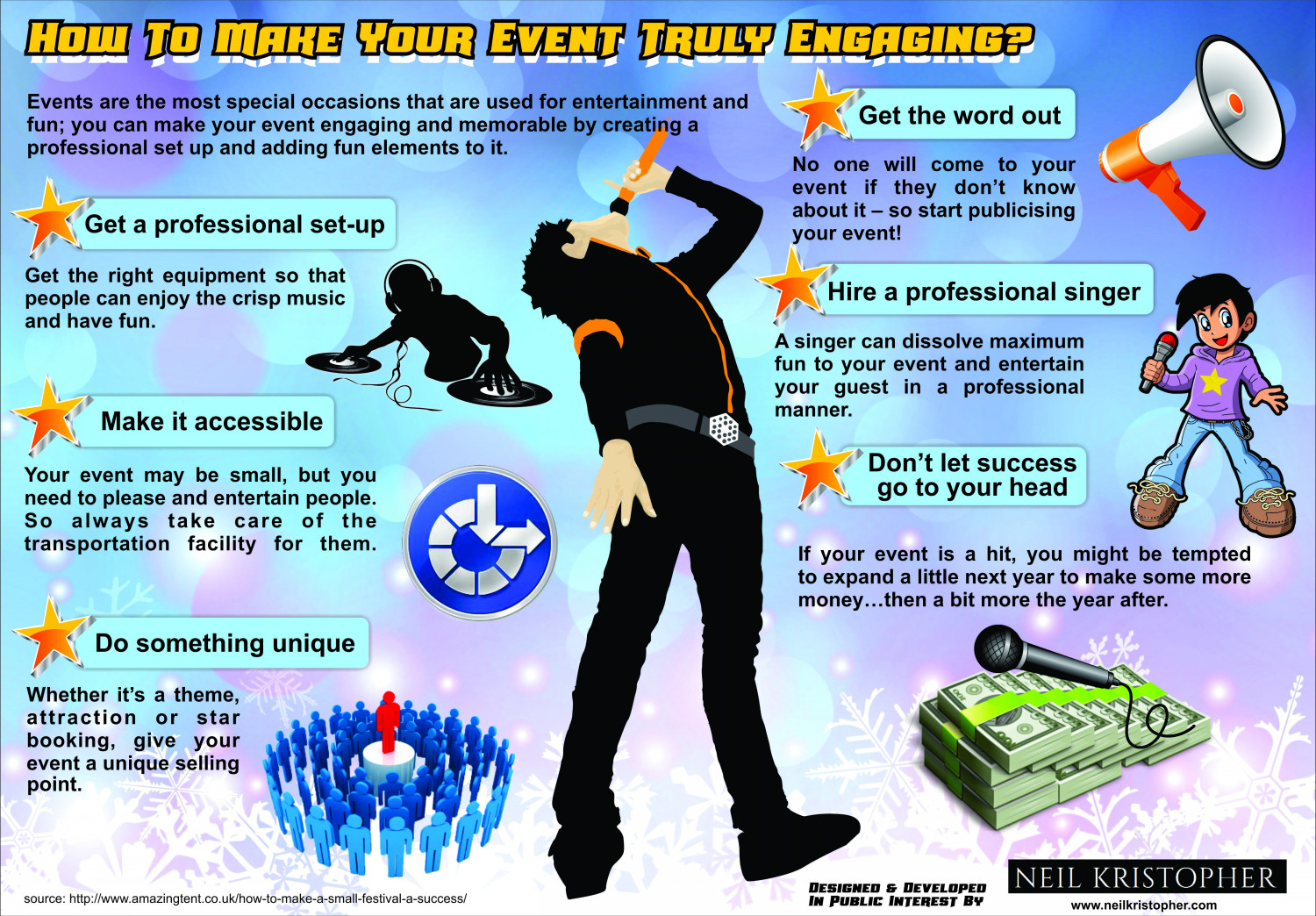 How To Make Your Event Truly Engaging? Infographic