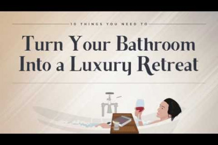 How to Make Your Own Luxury Bathroom Infographic