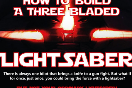 How to Make Your Own Triple Lightsaber Infographic