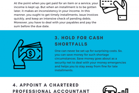 How to Manage your Business Cas Flow Infographic