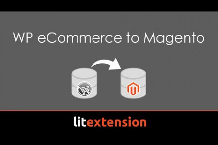 How to migrate from WP eCommerce to Magento with LitExtension Infographic