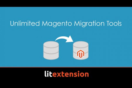 How to migrate shopping carts to Magento with LitExtension Infographic