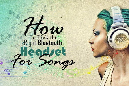 How To Pick the Right Bluetooth Headset For Songs Infographic