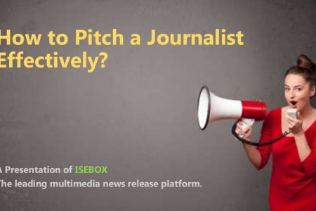 How to Pitch a Journalist Effectively? Infographic