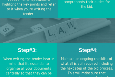 How To Plan a Tender Submission Infographic