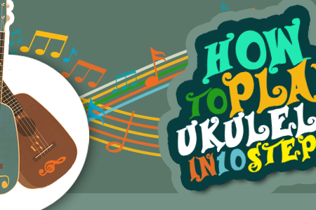 How to Play Ukulele in 10 Steps Infographic