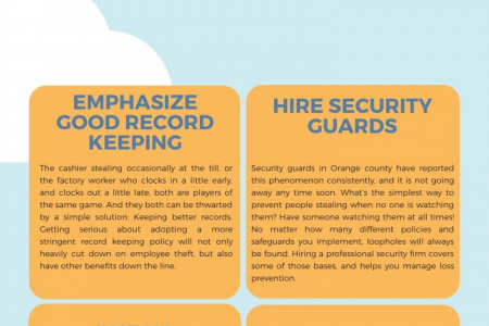 How to prevent employee theft Infographic