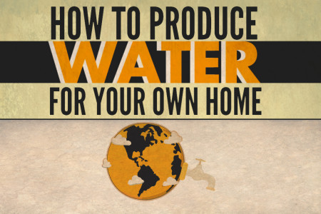 How to Produce Water for Your Home Infographic