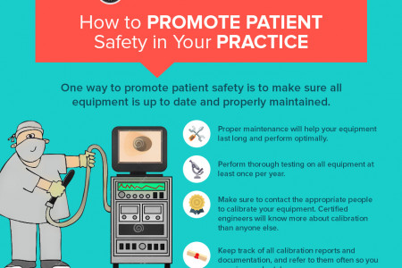 How to Promote Patient Safety in Your Practice Infographic