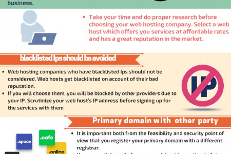 How To Protect Your Business From A Bad Web Hosting Company? Infographic