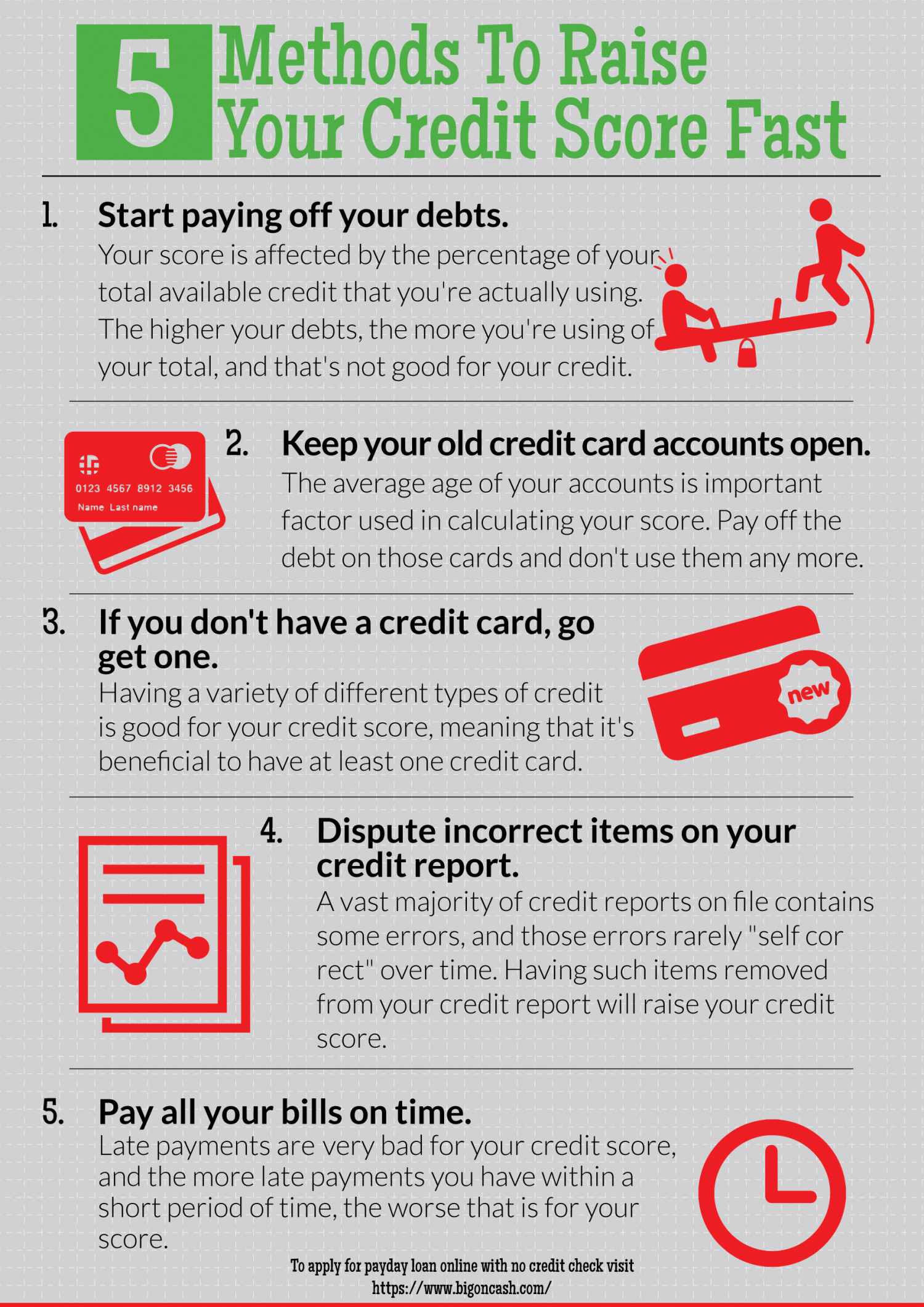 how to boost up your credit score fast
