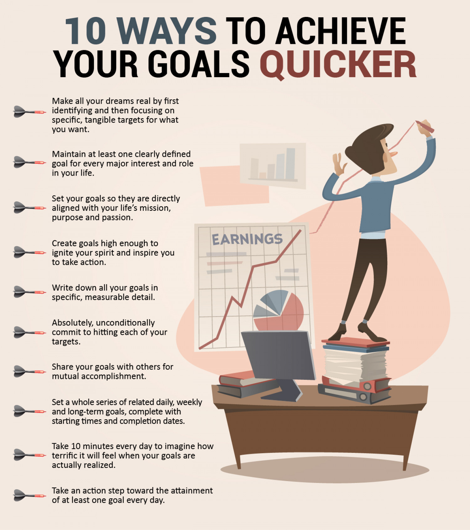 How to achieve your goals 8