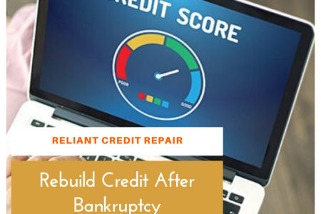 How To Rebuild Credit After Bankruptcy? Infographic