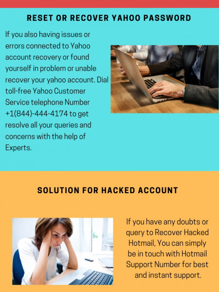 How to Recover Yahoo Mail lost Password Infographic