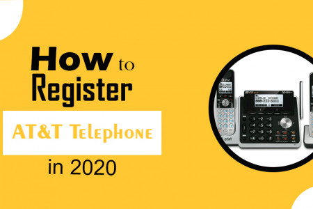 How to Register AT&T Telephone Handsets in 2020 Infographic