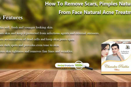 How to Remove Scars, Pimples Naturally from Face Natural Acne Treatment? Infographic