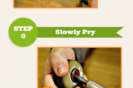 How To Remove Skateboard Bearings Infographic