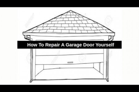 How to Repair a Garage Door Yourself - Airdrie Garage Doors Infographic