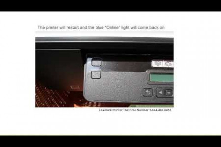 How to Reset Lexmark Laser Printer | 1-844-449-0455 | Toll Free Number Infographic