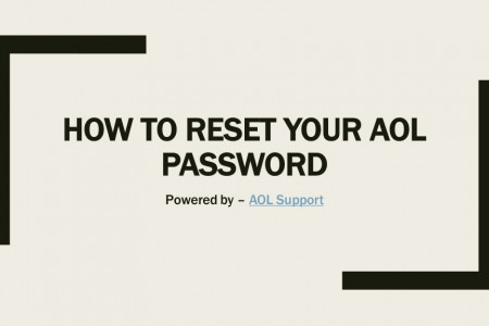How to Reset your AOL Password Infographic