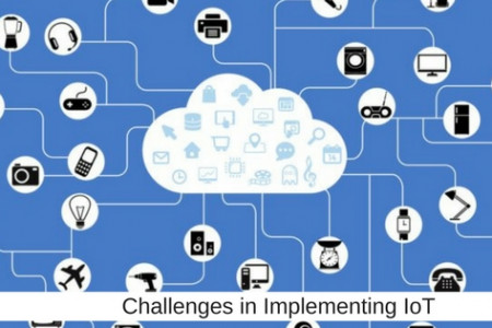 How to respond to challenges in Implementing IoT?     Infographic