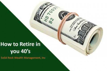 How to Retire in you 40's Infographic