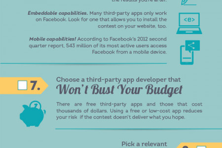 How to Run a Successful Facebook Contest in 15 Steps Infographic